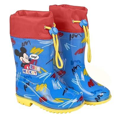 Perletti Micky Für Maus Disney Regenstiefel Kinder Jungen f76bYgyv