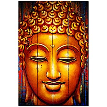 Amazon Com Classical Buddha Canvas Wall Art Buddha