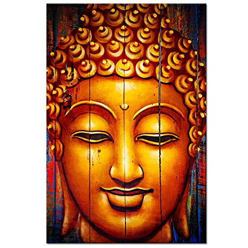 Classical-Buddha-Canvas-Wall-ArtBuddha-Prints-with-Frame-for-Home-Wall-DecorReady-to-Hang-Living-Room-Artwork