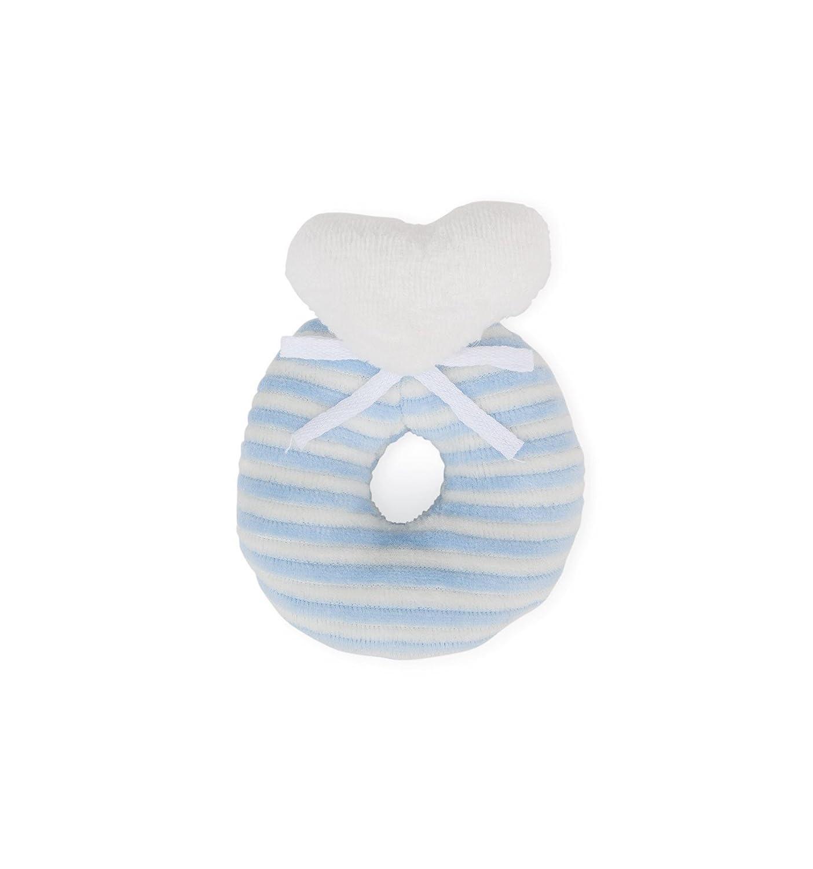 BebeDeParis Baby-Geschenkset Hase BLAU Geburtstgeschenk Taufgeschenk sch/önes Geschenk f/ür babys