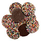 Milk Chocolate Non-Pareils, Rainbow by Guittard 16 oz