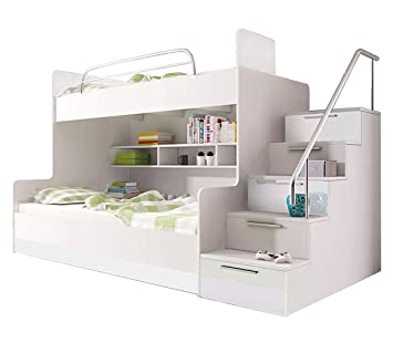 Bunk Bed Tala For 2 Children Functional Design High Gloss