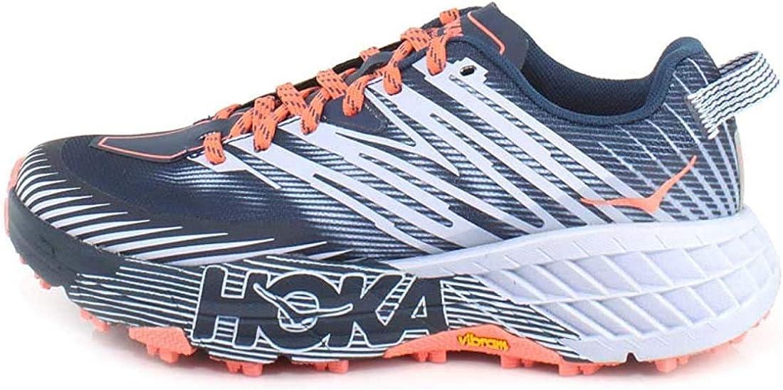 HOKA ONE One Speedgoat 4 Deportivas Femmes Azul/Rosa - 38 - Running/Trail: Amazon.es: Zapatos y complementos