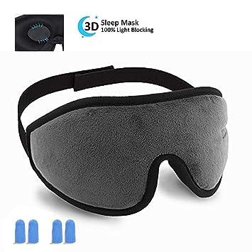 f3f4da3cd Amazon.com  HYOUCHANG Sleep Mask for Women Men