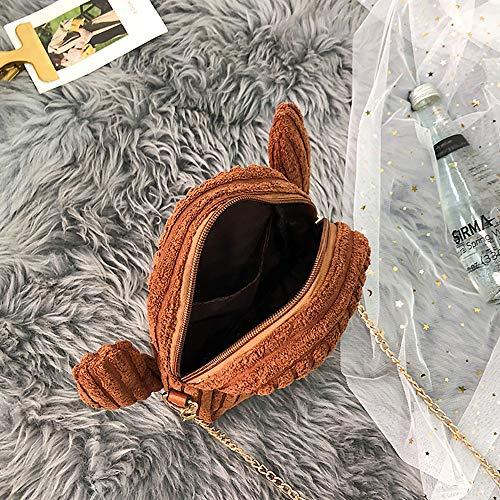 Épaule sac Kaiki Femme Bandoulière Marron Portés Cactus À Pour Mignon Wild sacs Femme Sac q7gH7T