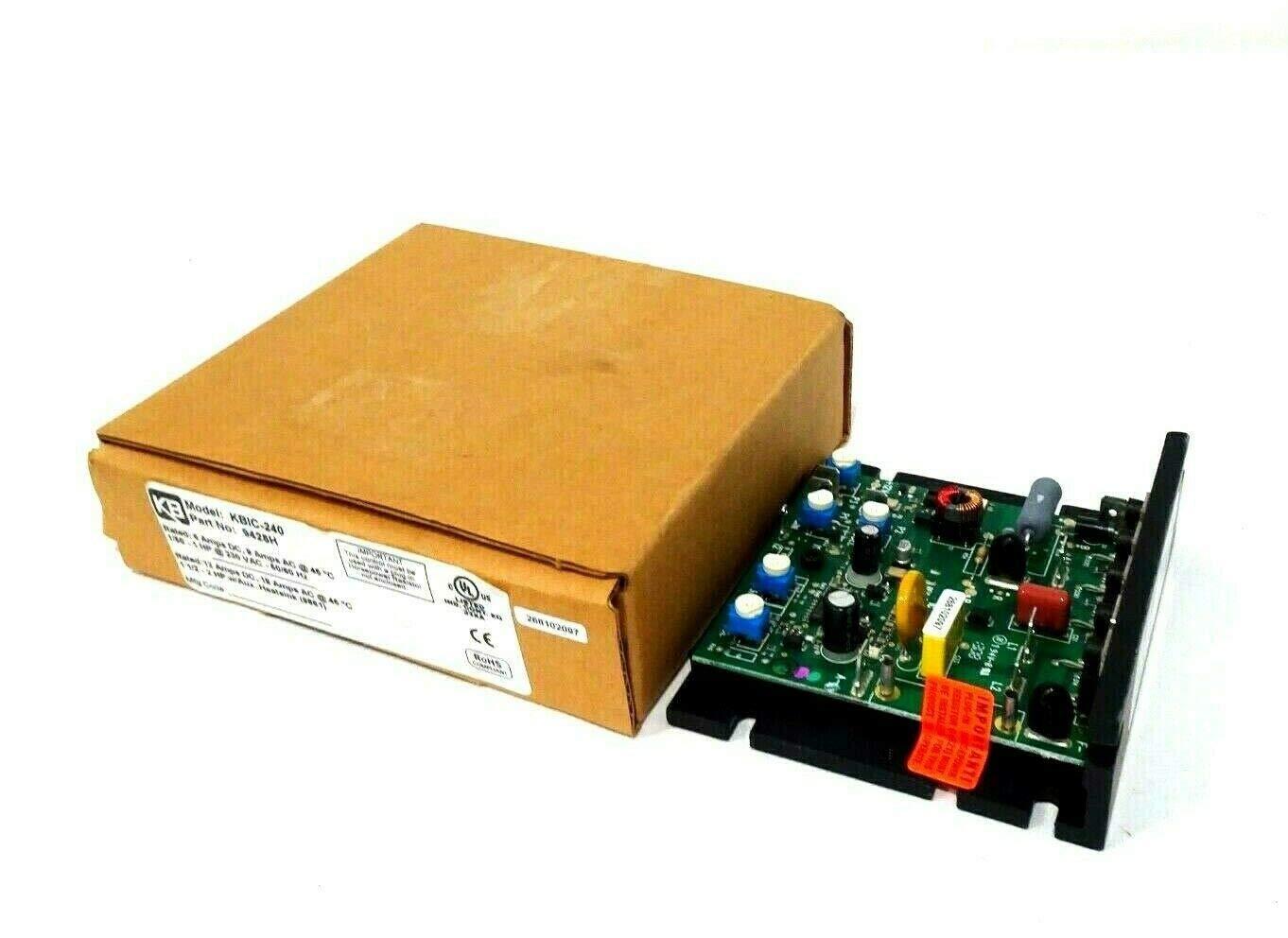 KBPB-125 KB Electronics DC Motor Speed Control