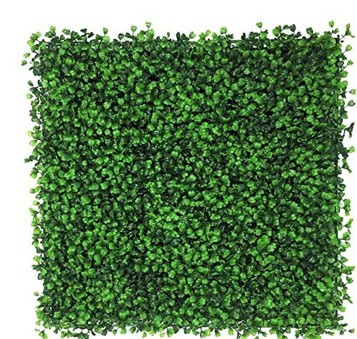 SkyBay Artificial Boxwood Topiary Hedge Plant Privacy Fence Screen Greenery Panels Suitable for Both Outdoor or Indoor, garden or backyard Wall and home decor (24 piece) by SkyBay