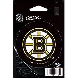 "NHL Boston Bruins WCR66220091 Round Vinyl Decal, 3"" x 3"""