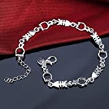 Sumanee Lady Women Bangle Bracelet Silver Plated Jewelry Cat Fish