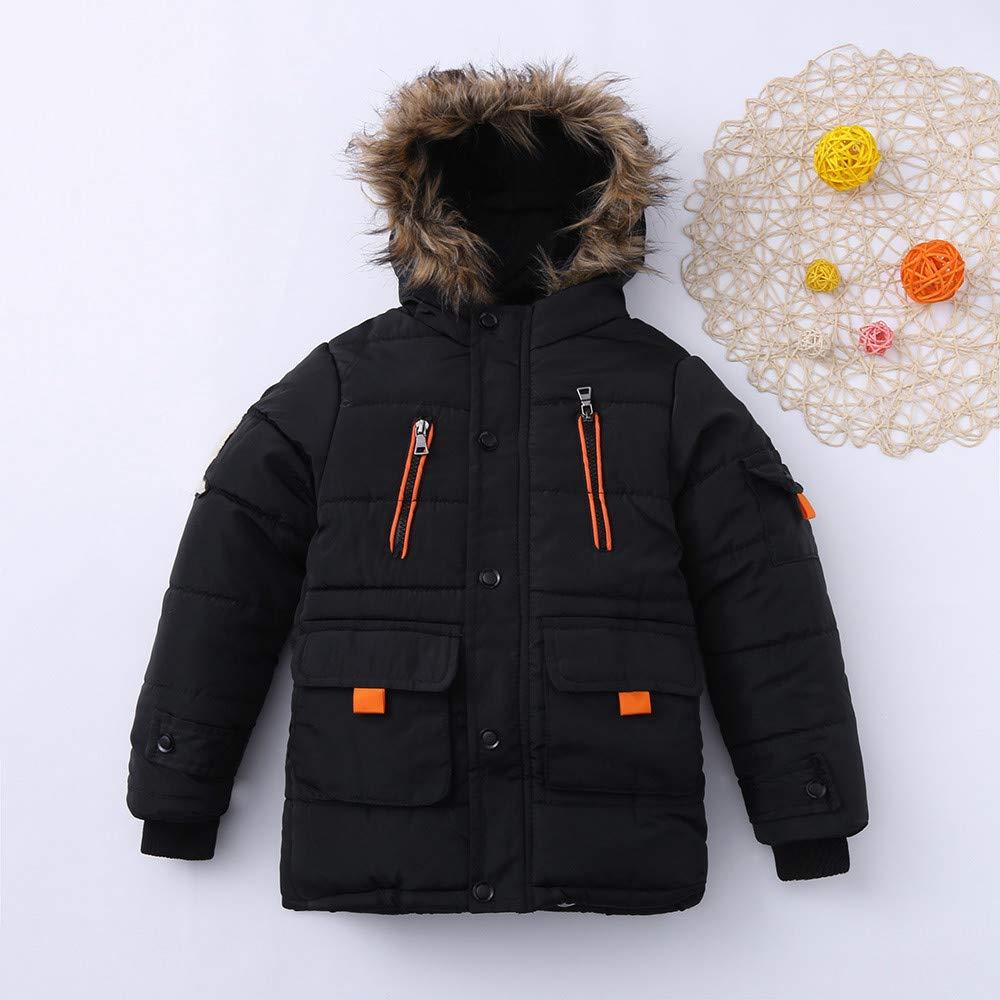 scaling Lightweight Windproof Jacket/♥ Children Kids Boys Girls Outwear Long Sleeved Hooded Keep Warm Wadded Jacket Clothes