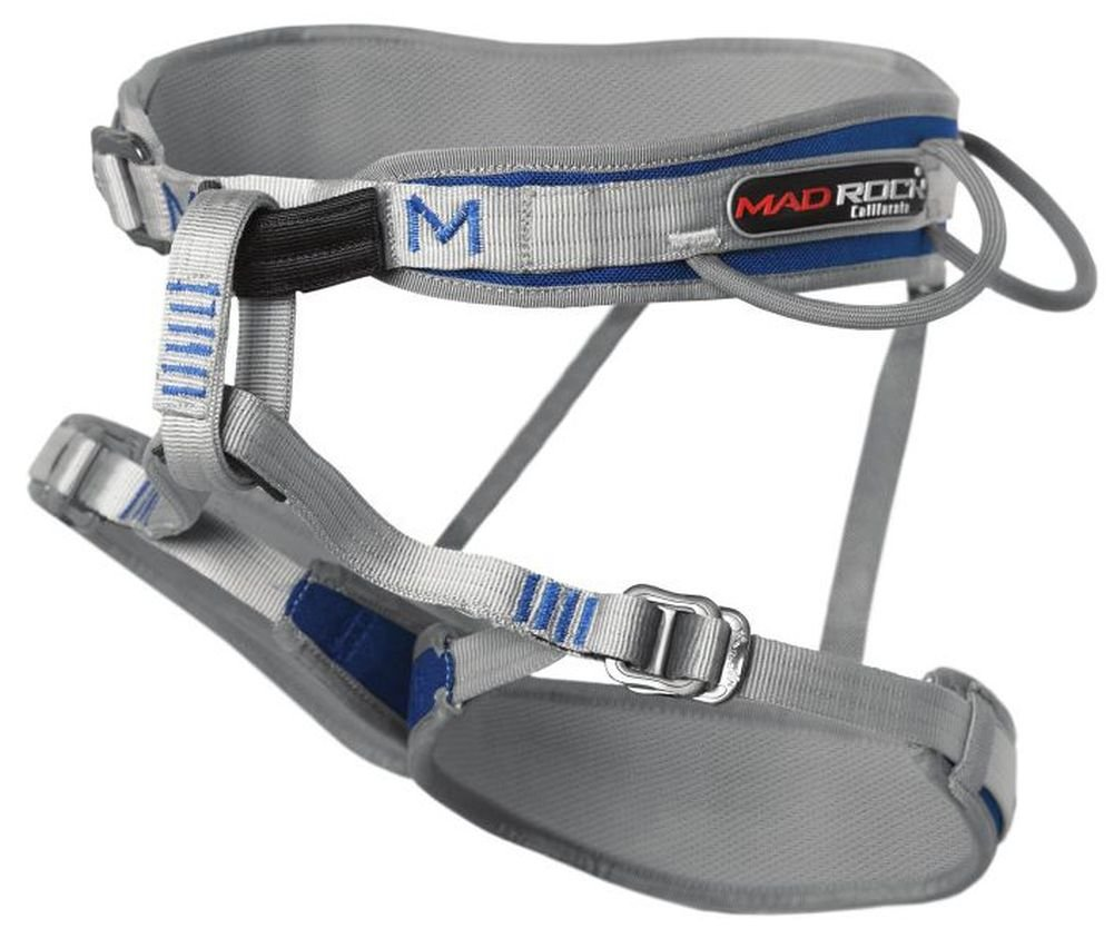 Mad Rock Mars Harness - Men's Blue Small by Mad Rock