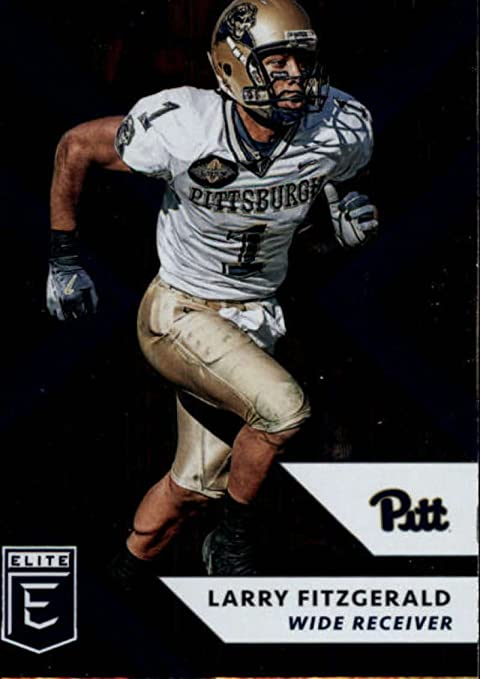 C/&I Collectables NCAA Pittsburgh Panthers Mens Larry Fitzgerald Two Card Plaque 6X8 Brown