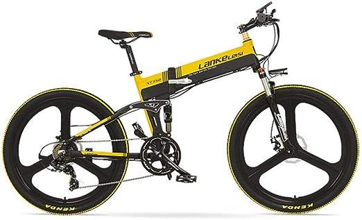 BNMZX Eléctrico, Plegable, Bicicleta, Ciclomotor, Pulgada de Vida ...