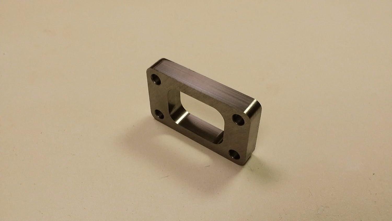 Duokon T3 Undivided Inlet 1.00in Spacer Turbo Flange for Garrett Precision HX30 HX3