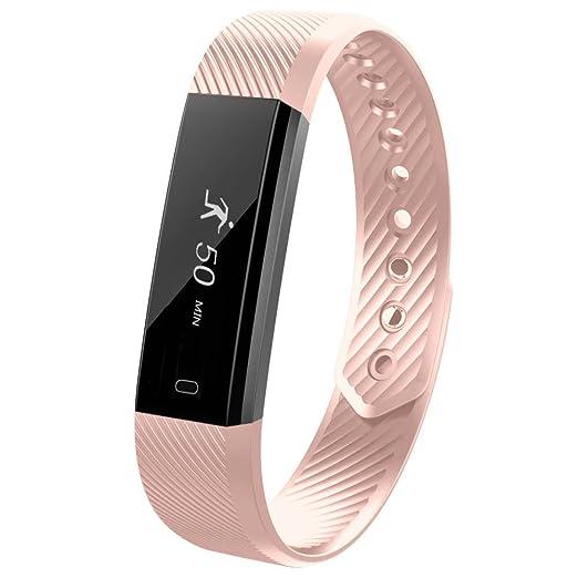 32 opinioni per Fitness Tracker,YUANGUO® Braccialetto Fitness da polso,Impermeabilità IP67