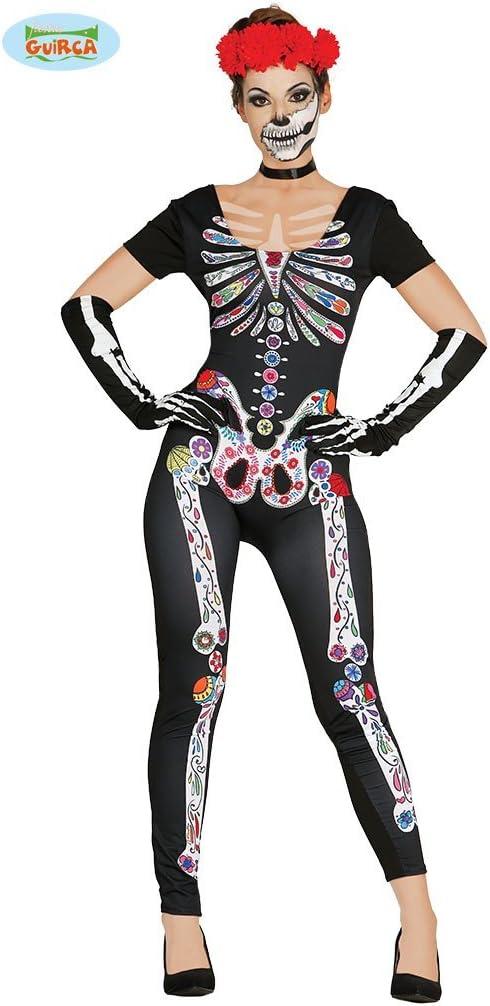 Disfraz de Esqueleto Catrina para mujer: Amazon.es: Juguetes y juegos