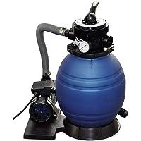 vidaXL Sand Filter Pump 400 W 11000 l/h Swimming Pool Pond Water Cleaning