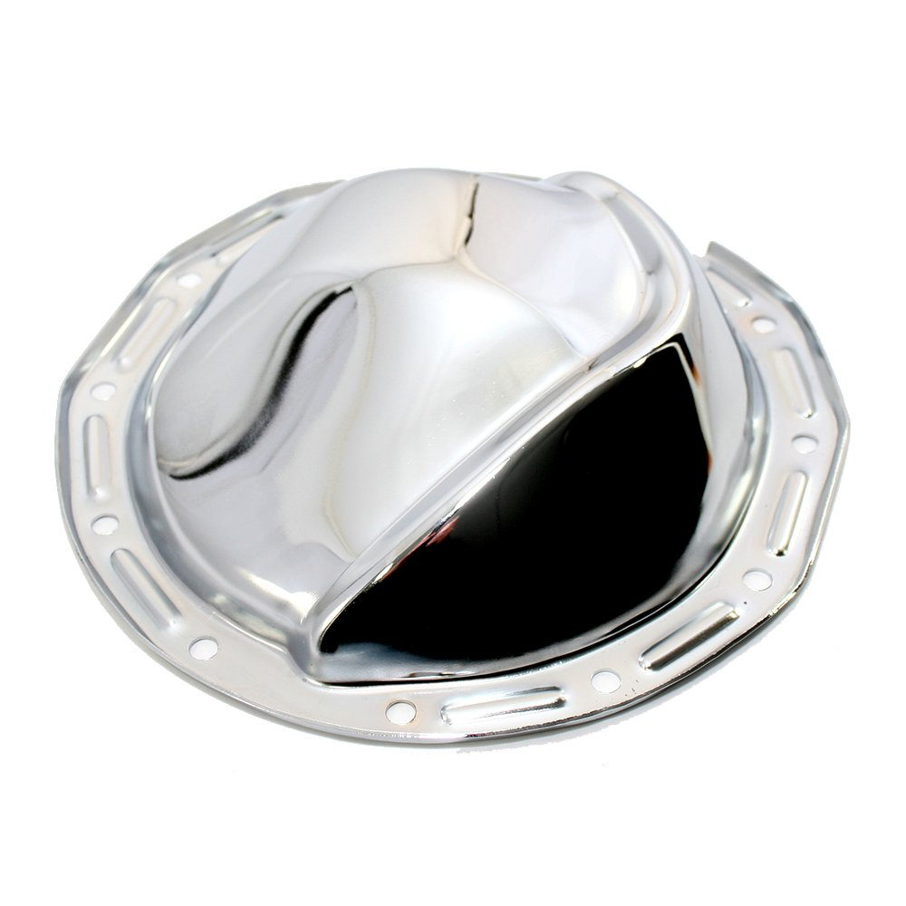 Assault Racing Products A4787 GM 12 Bolt 8.875in Ring Gear Chrome Steel Rear Differential Cover
