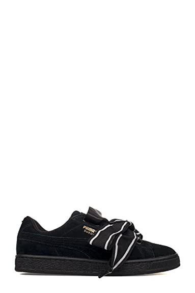 Puma Damen 36408401 Schwarz Wildleder Sneakers: Amazon.de: Schuhe ...