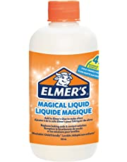 Elmer's Glue Slime Magical Liquid Slime Activator Solution, Ideal for Making Slime, Makes Four Batches of Slime, 259 ml