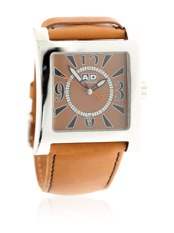 89b2a158f6ce Adolfo Dominguez Reloj analogico para Hombre de Cuarzo con Correa en Piel  64607  Amazon.es  Relojes