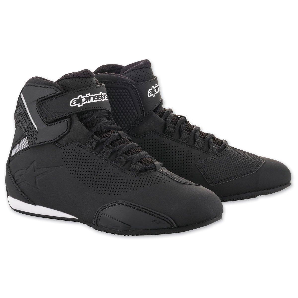 Alpinestars Mens 251561813195 Shoe Black//Grey//Red Size 9.5