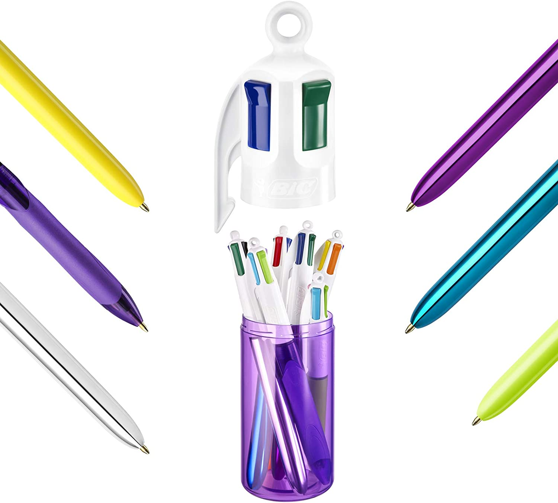 5er-Schachtel BIC My 4 Colours Box Kugelschreiber