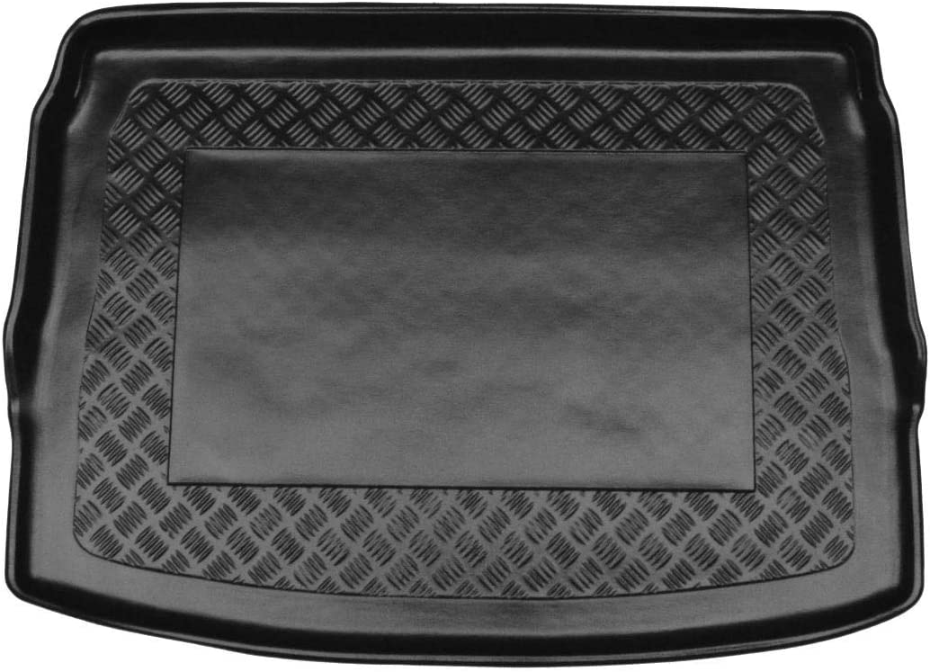 OPPL Basic Pure 80201122 Kofferraumwanne Kofferraum Matte Riffelblech Design