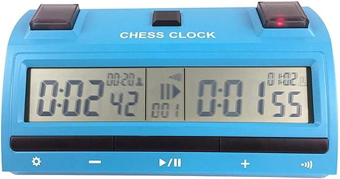 FancyswES8eety PS398 Reloj Digital de ajedrez Temporizador de ...