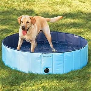 [Mia.home®] Piscina para perros, 80/120/160cm, 160x30cm