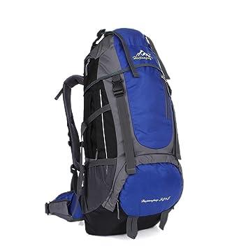 7d6001ee44 55L escalade multifonction sac à dos pour hommes et femmes nylon grande  capacité léger sac portatif