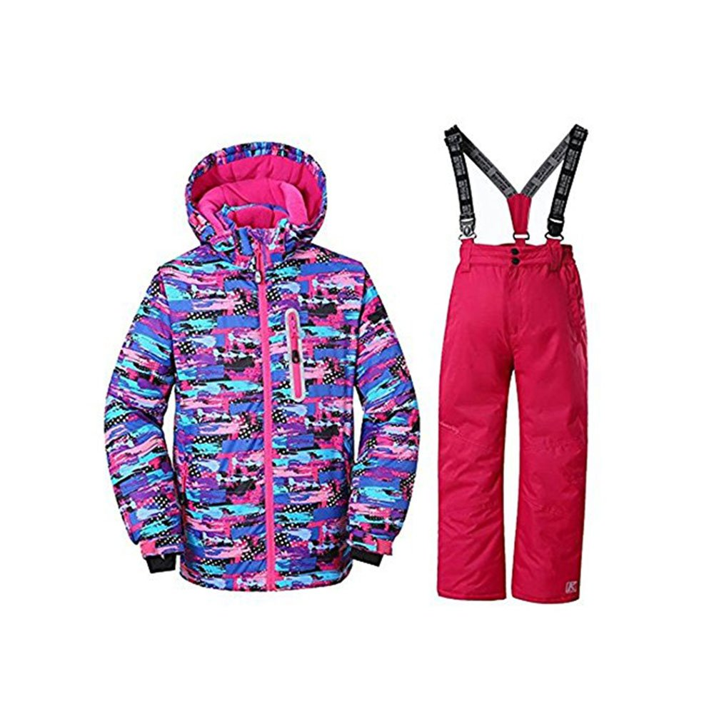 Girls Snowsuit Insulated Ski Jacket and Pants GSOU SNOWING