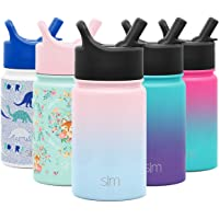 Simple Modern 10oz Summit Kids Water Bottle Thermos with Straw Lid - Dishwasher Safe Vacuum Insulated Double Wall…