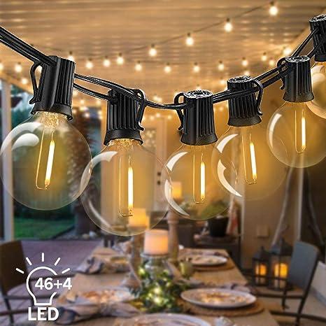 Lichterkette Glühbirnen Außen Innen String Hängend Weihnachten Party IP44
