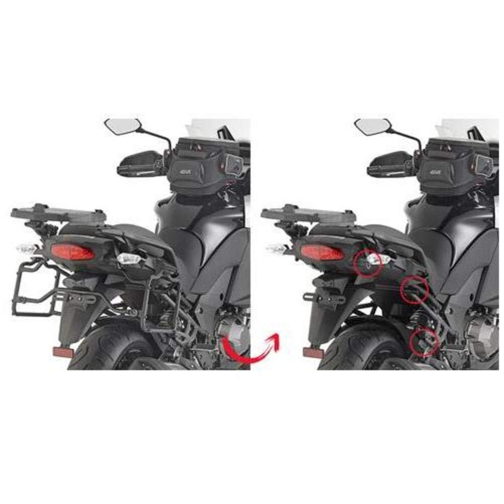 GIVI PLR4113 Rapid Release Tubular Monokey Side-Case Holder for Kawasaki Versys 1000 LT