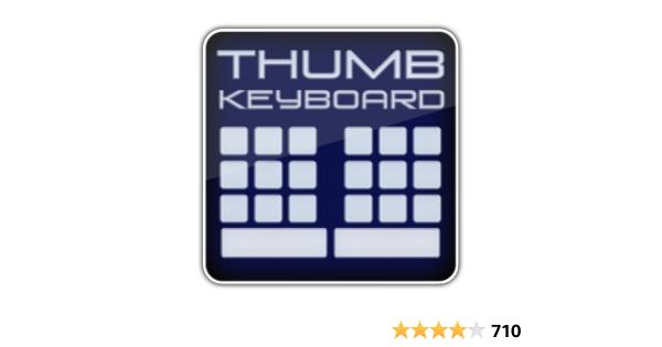 Thumb Keyboard (Phone/Tablet)