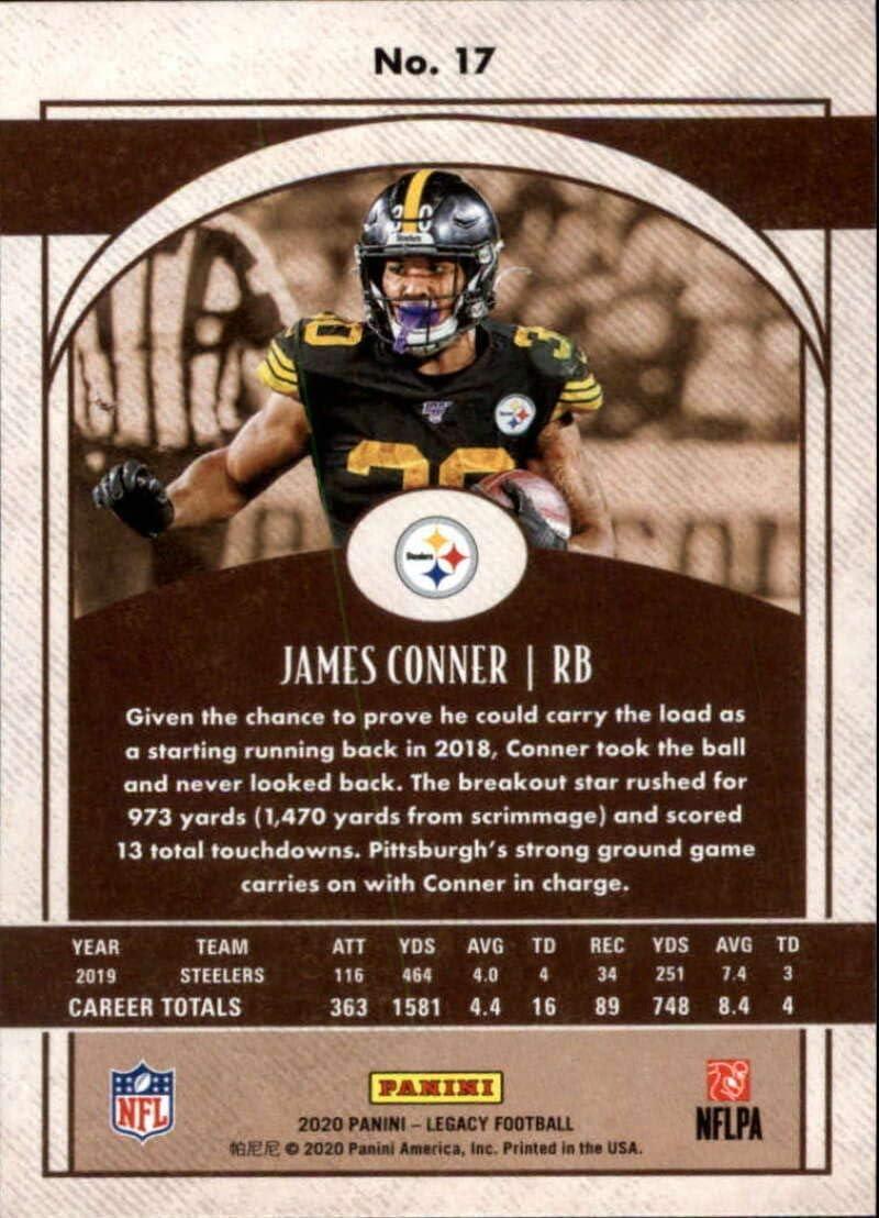 2020 Panini Legacy Football #17 James Conner Pittsburgh Steelers