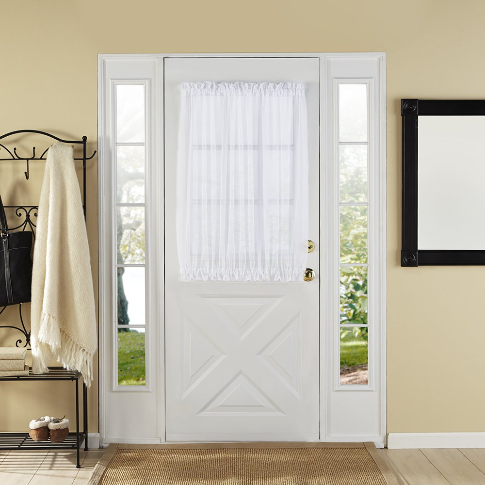 amazon com stylemaster home products elegance voile door panel