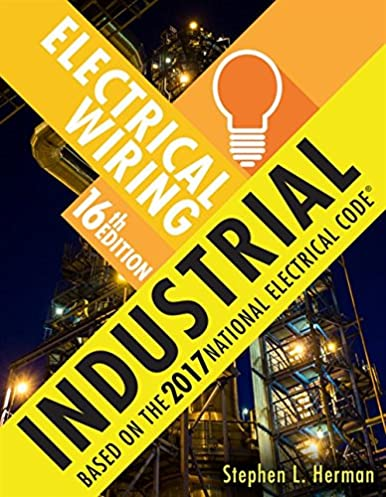 electrical wiring industrial mindtap course list stephen l rh amazon com Industrial Electrical Installation vintage industrial wire bookshelf