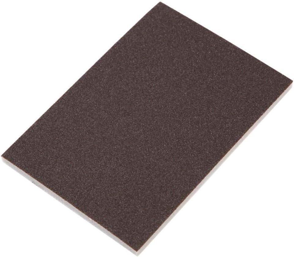 LUOKAOO 10pcs Square Sponge Sandpaper 120//180//240 Grit Fine Polishing Sanding Paper Abrasive Tools
