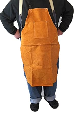 Amazon Com Over Sized Leather Shop Apron Safety Apparel For