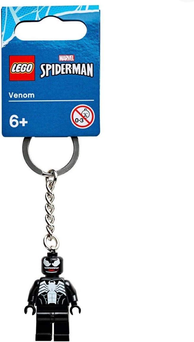 2020 Year Marvel Lego Spider-Man Venom Key Chain Super Heroes Minifigure 854006
