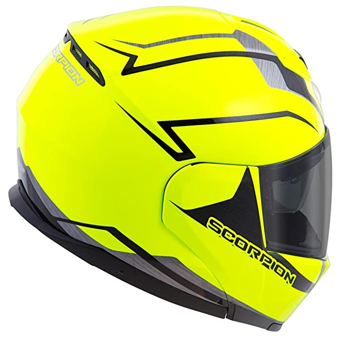 Amazon.com: Scorpion EXO-900X TransFormerHelmet 3-In-1 Street Motorcycle Helmet (Neon, Large): Automotive