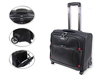 Maletín para Ordenador portátil con Ruedas, maletín para Ordenador portátil, maletín de Viaje TRO Business Office ravel C, Bolsa de Cabina en Bolsa: ...