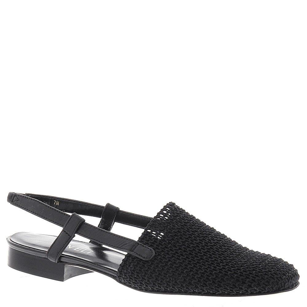 VANELi Womens Janet Closed Toe Casual Slingback Sandals B0002Q1MOK 4 B(M) US Black