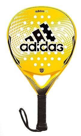 adidas P5 Pala pádel, Unisex Adulto, Amarillo/Negro/Blanco, 366g única: Amazon.es: Deportes y aire libre