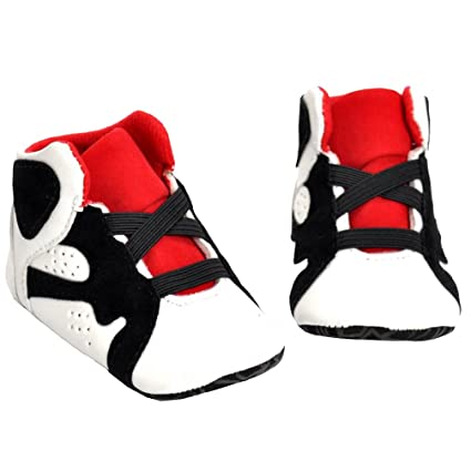 bab9c3688ec35 Morrivoe Baby Girls Boys Soft Sole Anti-slip Sneakers Shoes Infant Toddler  Casual Sport Shoes