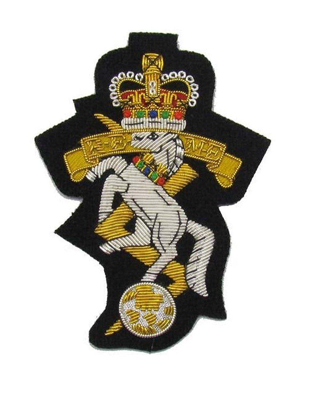 Badge Royal Electrical and Mechanical Engineers Blazer Badge on Black R658