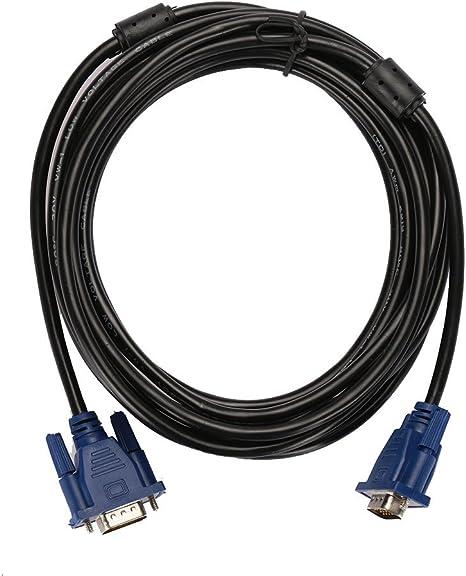TOPmountain Macho Vga De 10 M 15 Pines A Cable Masculino Cable Vga ...