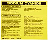 Brady 93732 Vinyl Hazardous Material Label